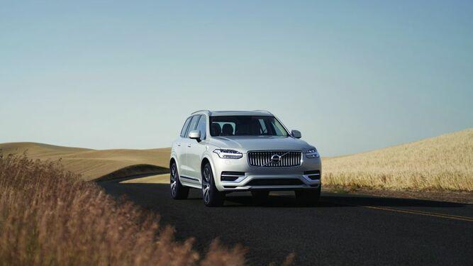 Tu viaje comienza aquí en el Volvo XC90