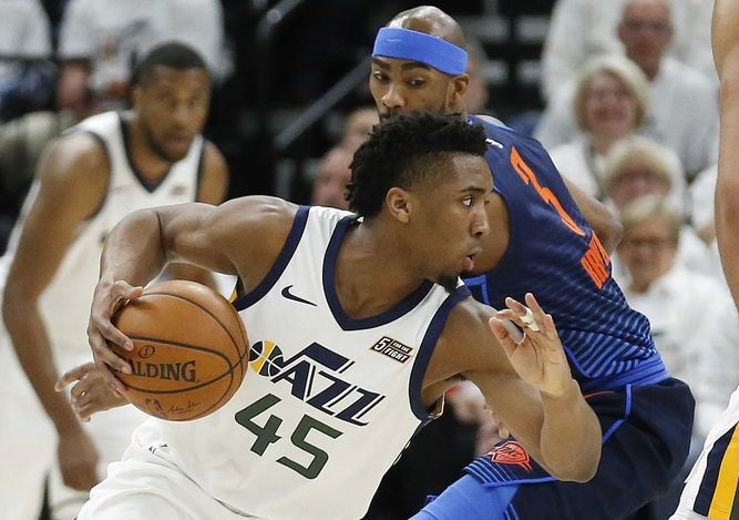 El Jazzpone al Thunder contra la pared;Rockets arrollan alTimberwolves