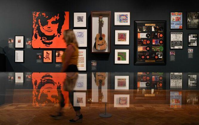 Una exposición homenajea a la estrella del pop Ed Sheeran