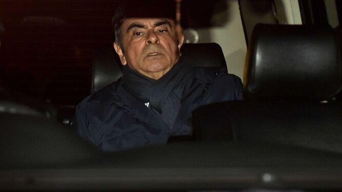 Justicia de Japón presenta nuevos cargos contra Carlos Ghosn