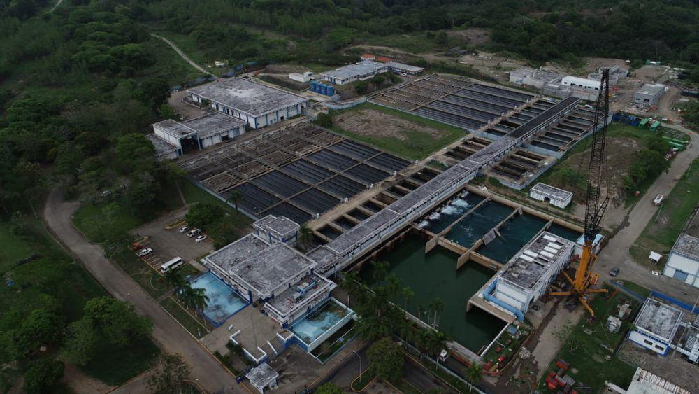 Planta potabilizadora de Chilibre opera al 90%; cerca de 20 sectores de la capital se verán afectados