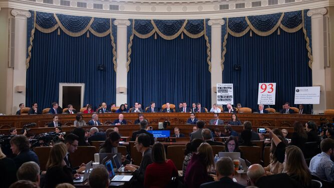 Se inician audiencias públicas en el Congreso para un juicio político de Donald Trump