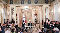 El primer cara a cara del presidente y sus ministros