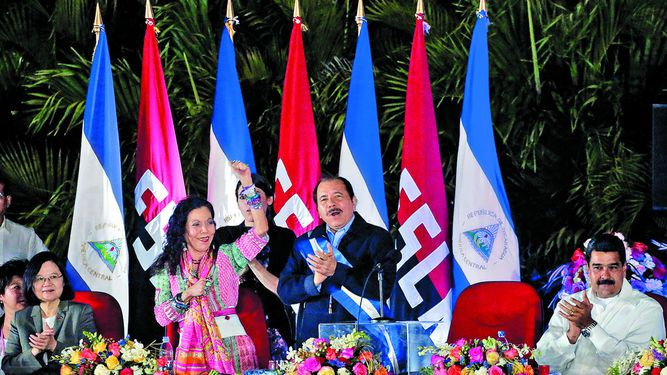 Ortega y Murillo toman posesión del poder en Nicaragua