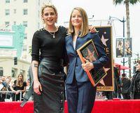 Jodie Foster ya tiene su estrella en el Paseo de la Fama