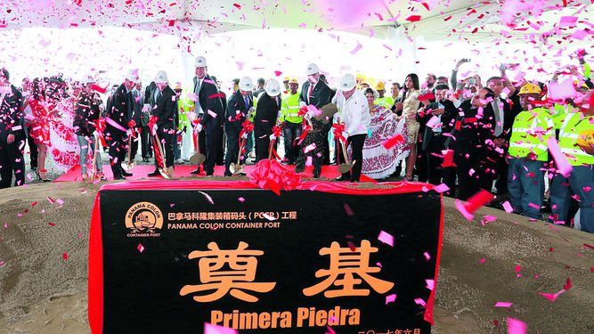 Grupo chino hará puerto en Colón