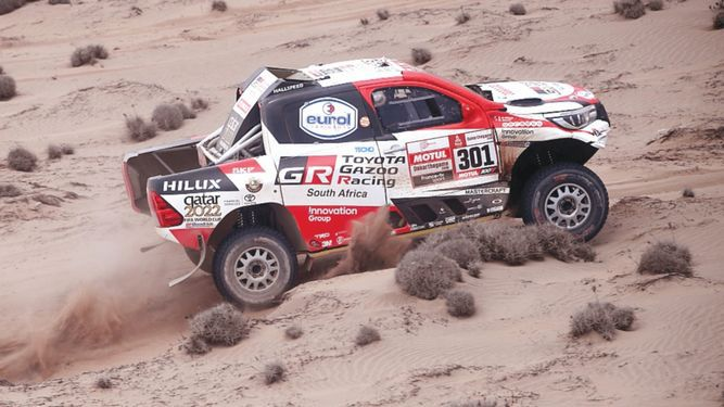 Catarí al-Attiyah sigue como líder del Rally