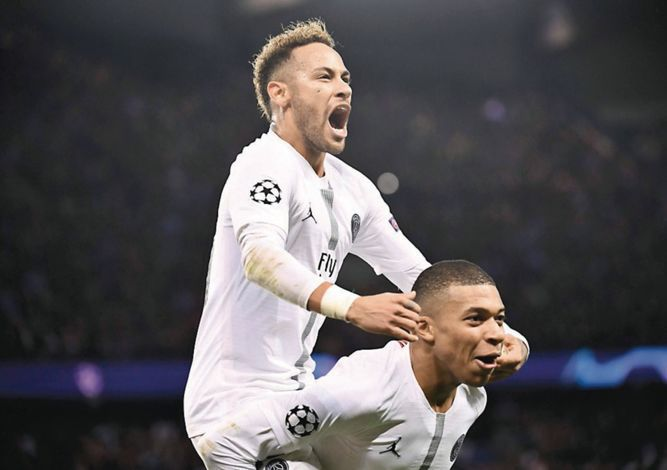 PSG gana al Liverpool y recobra el aliento