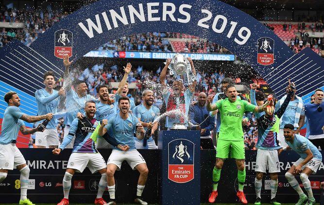 Manchester City conquista el FA Cup y logra el histórico triplete en Inglaterra