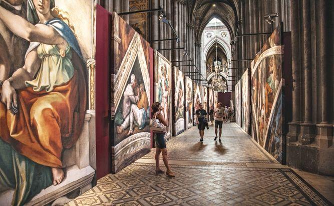 Una exhibición trae el arte de la Capilla Sixtina a Panamá