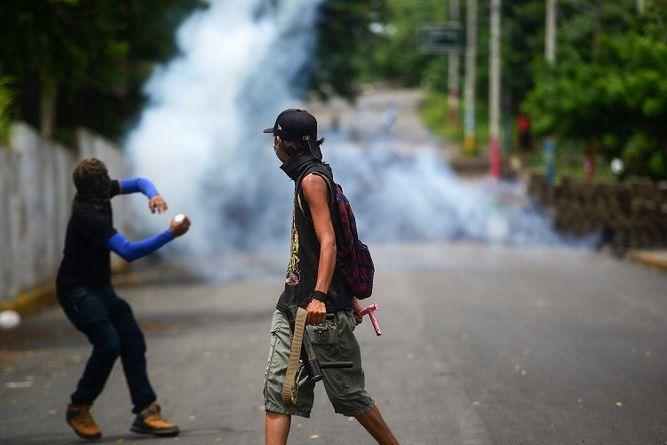 Oposición en Nicaragua denuncia intento de criminalizar protesta con una nueva ley