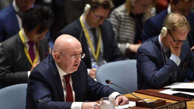Rusia pide al Consejo de Seguridad que condene 'agresión' contra Siria