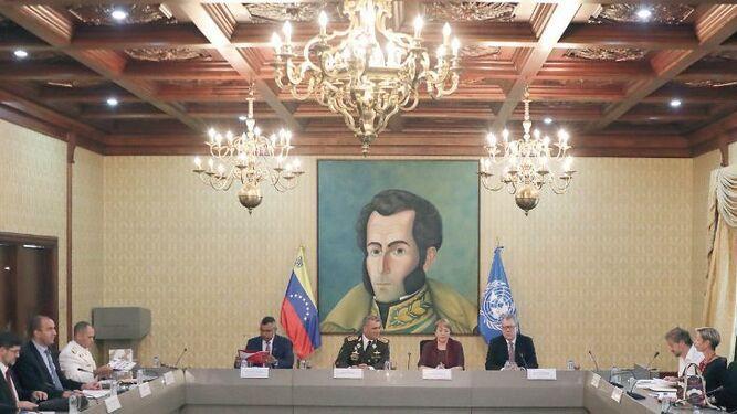 Alta Comisionada de la ONU sostiene primer 'cara a cara' con autoridades
