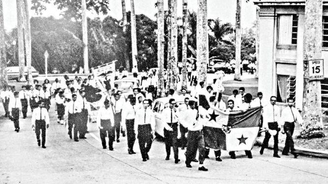 El 9 de enero de 1964, un camino hacia la soberanía