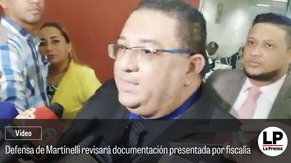 La defensa de Martinelli recibirá copia de los cuadernillos confidenciales