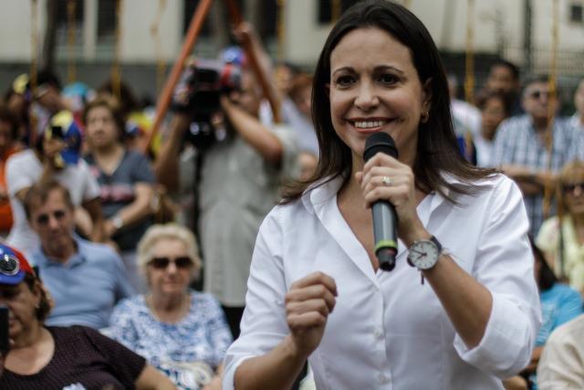 Exdiputada María Corina Machado comparece ante la Fiscalía