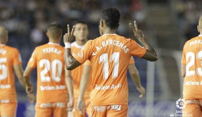 Bárcenas le da la primera victoria de la temporada al Oviedo