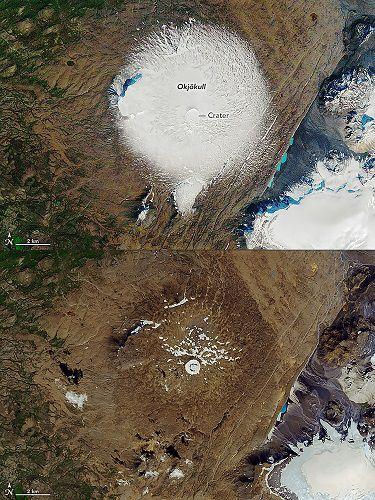 Islandia despide a su primer glaciar desaparecido por el recalentamiento global