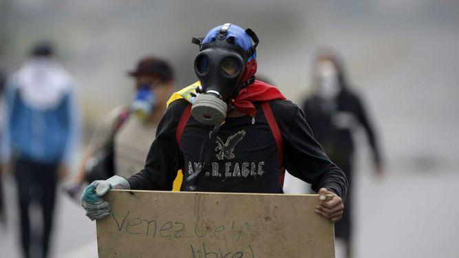 Mueren dos personas durante las protestas de este lunes en Venezuela